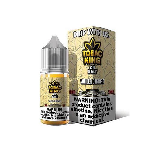 Tobac King On Salt Vanilla Custard 30ML