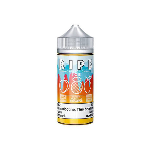 Ripe Collection On ICE Peachy Mango Pineapple 100ML