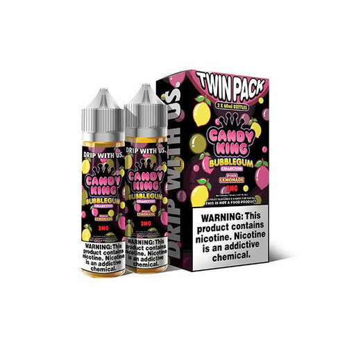 Candy King Bubblegum Pink Lemonade 120ML