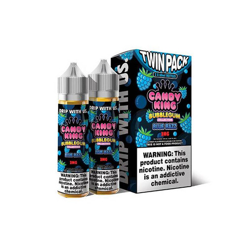 Candy King Bubblegum Blue Razz 120ML