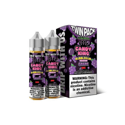 Candy King Bubblegum Grape 120ML