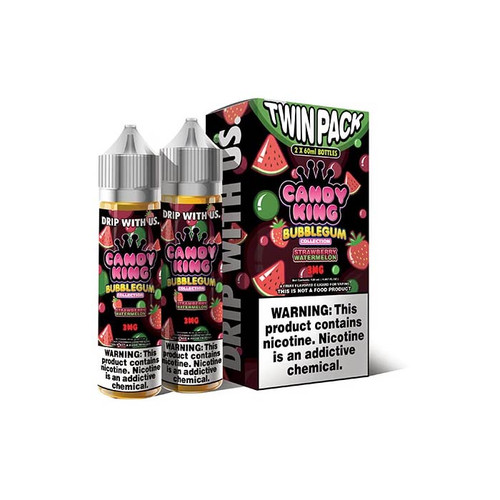 Candy King Bubblegum Strawberry Watermelon 120ML