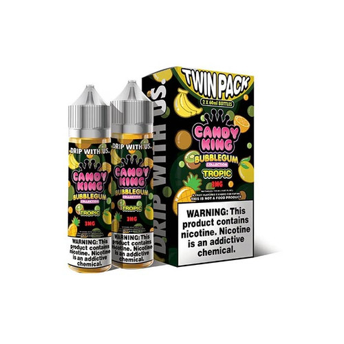 Candy King Bubblegum Tropic 120ML