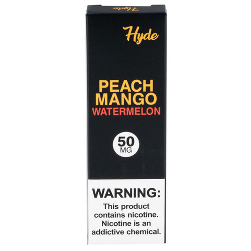 Hyde Disposable Peach Mango Watermelon Box