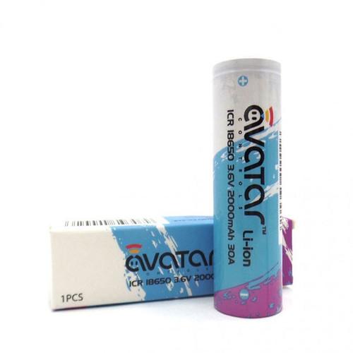 Avatar ICR 18650 2000mAh 30A Battery