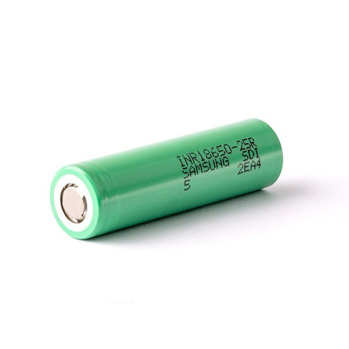 Samsung 25R INR 18650 2500mAh Battery