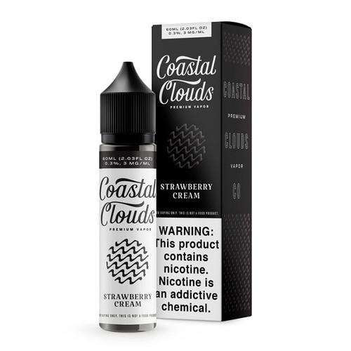 Coastal Clouds Strawberry Cream 60ML