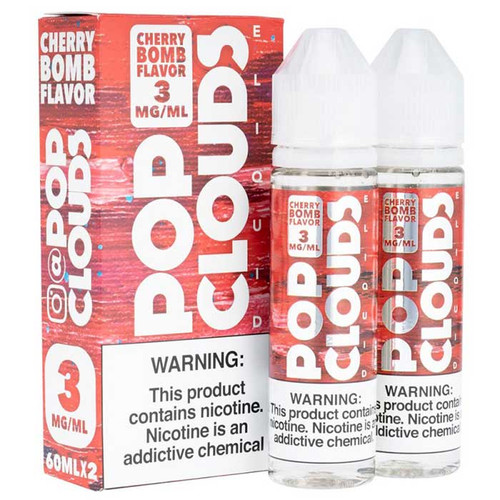 Pop Clouds Cherry Bomb 120ML