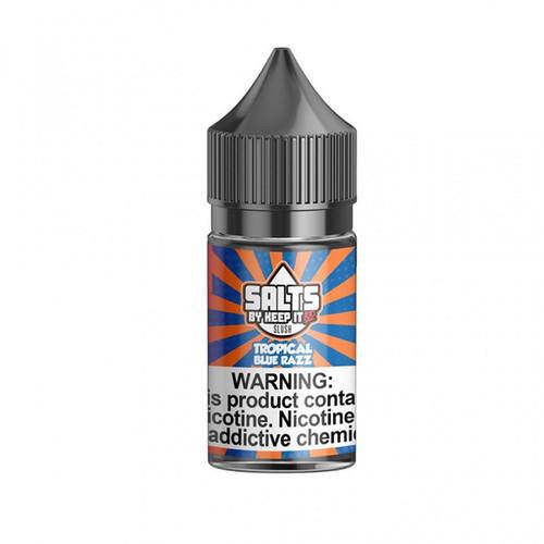Keep It 100 Salts Tropical Blue Razz 30ML