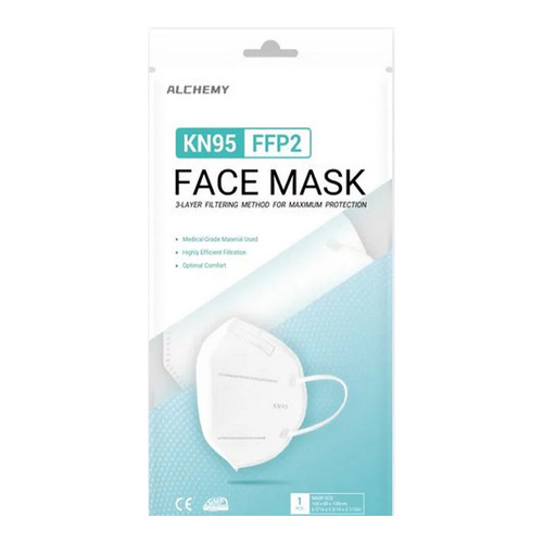 Alchemy KN95 Face Mask Box Front