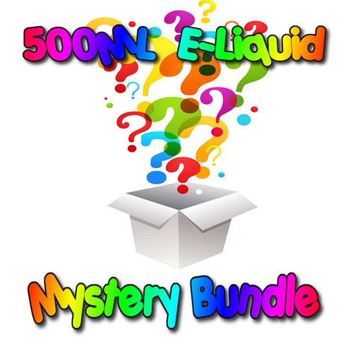 500ML E-Liquid Mystery Bundle