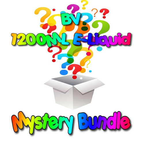 1200ML Budget Vapors E-Liquid Mystery Bundle