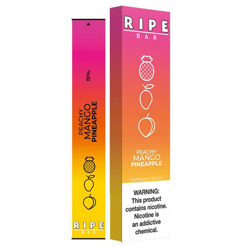 Ripe Bar Disposable Peachy Mango Pineapple