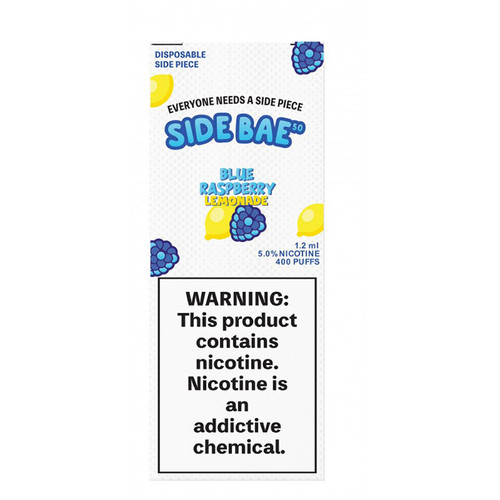Side Bae Disposable Blue Raspberry Lemonade Box