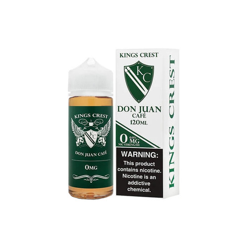 King's Crest Don Juan Cafe 120ML
