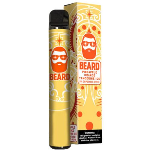 Beard Disposable Pineapple Orange Tangerine Ice