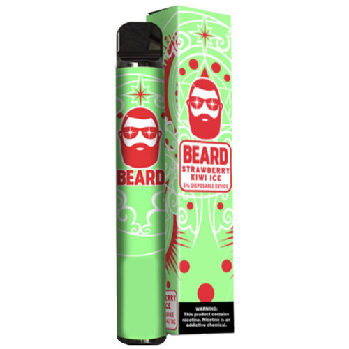 Beard Disposable Strawberry Kiwi Ice