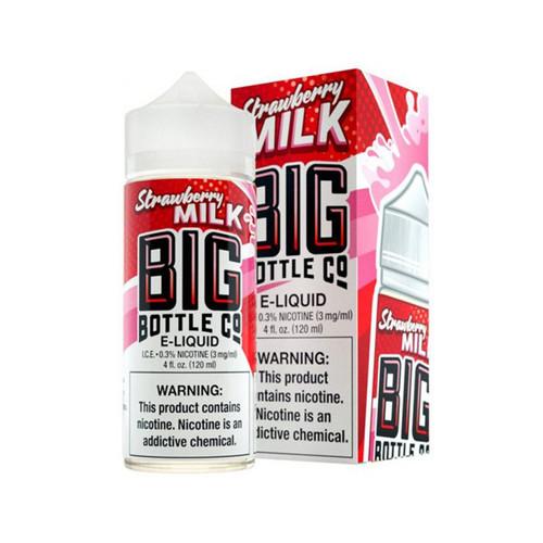 Big Bottle Co Strawberry Milk 120ML