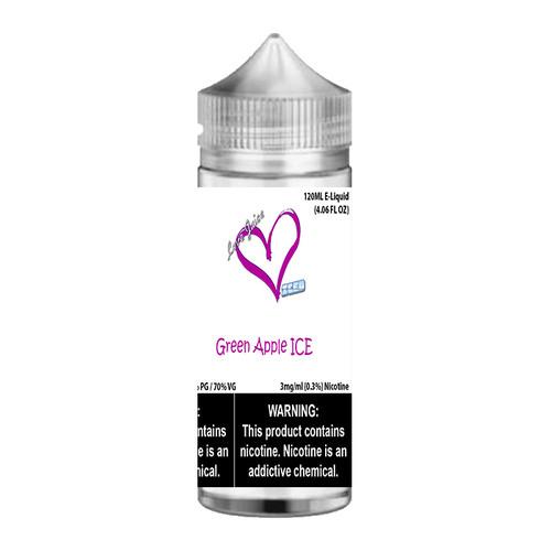 Love Juice Iced Green Apple ICE Chubby Gorilla 120ML