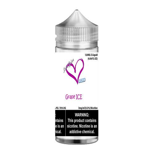 Love Juice iced Grape ICE Chubby Gorilla 120ML