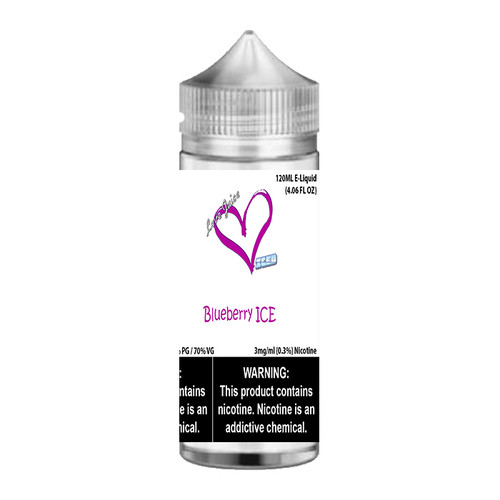 Love Juice Iced Blueberry ICE Chubby Gorilla 120ML