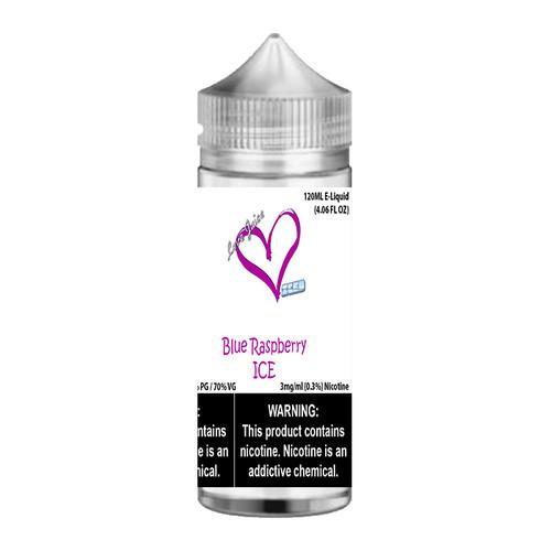 Love Juice Iced Blue Raspberry ICE Chubby Gorilla 120ML