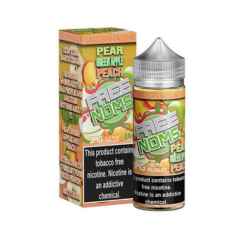 FreeNoms TFN Pear Green Apple Peach 120ML
