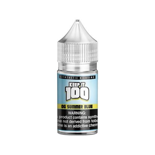 Keep It 100 TFN Salt OG Summer Blue 30ML