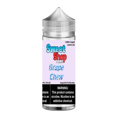 Sweet Shop Grape Chew Chubby Gorilla 120ML