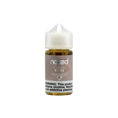 Naked 100 Cuban Blend 60ML