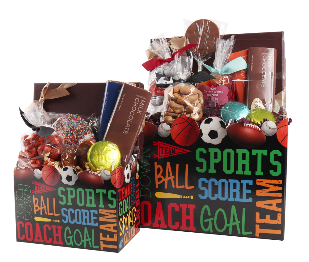 Sports Gift Basket Box