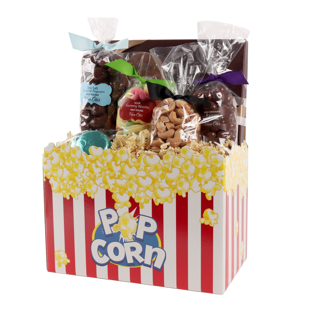 Movie Night! Gift Basket Box