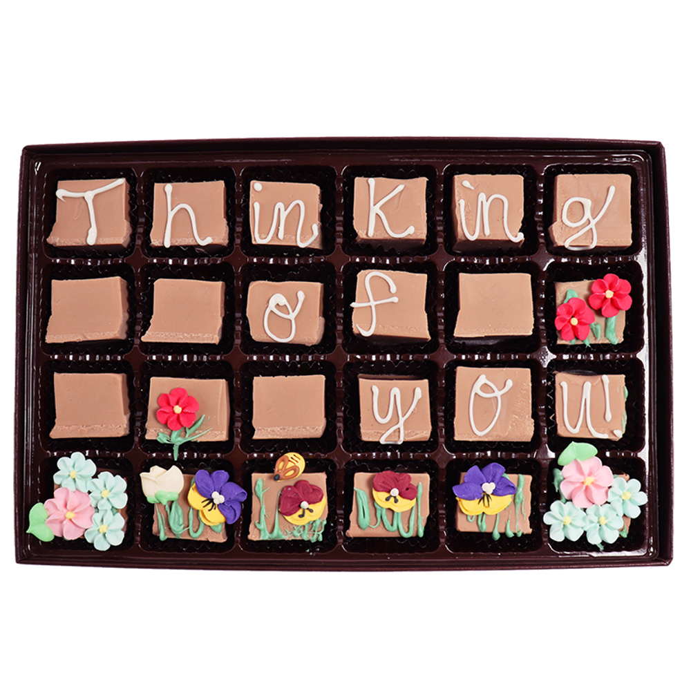 Thinking of You! - Large Custom Swiss Fudge Box