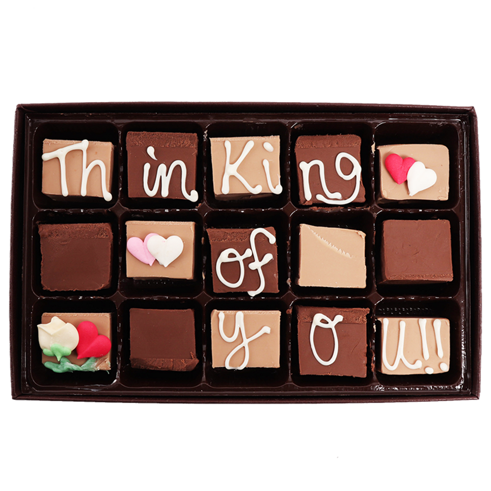Thinking of You! Medium Swiss Fudge Box