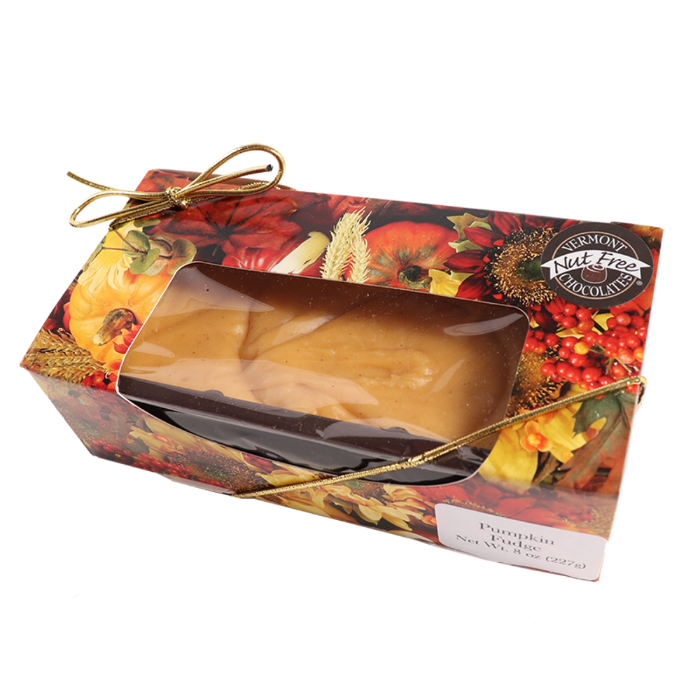 Vermont Nut Free Chocolates Pumpkin Fudge