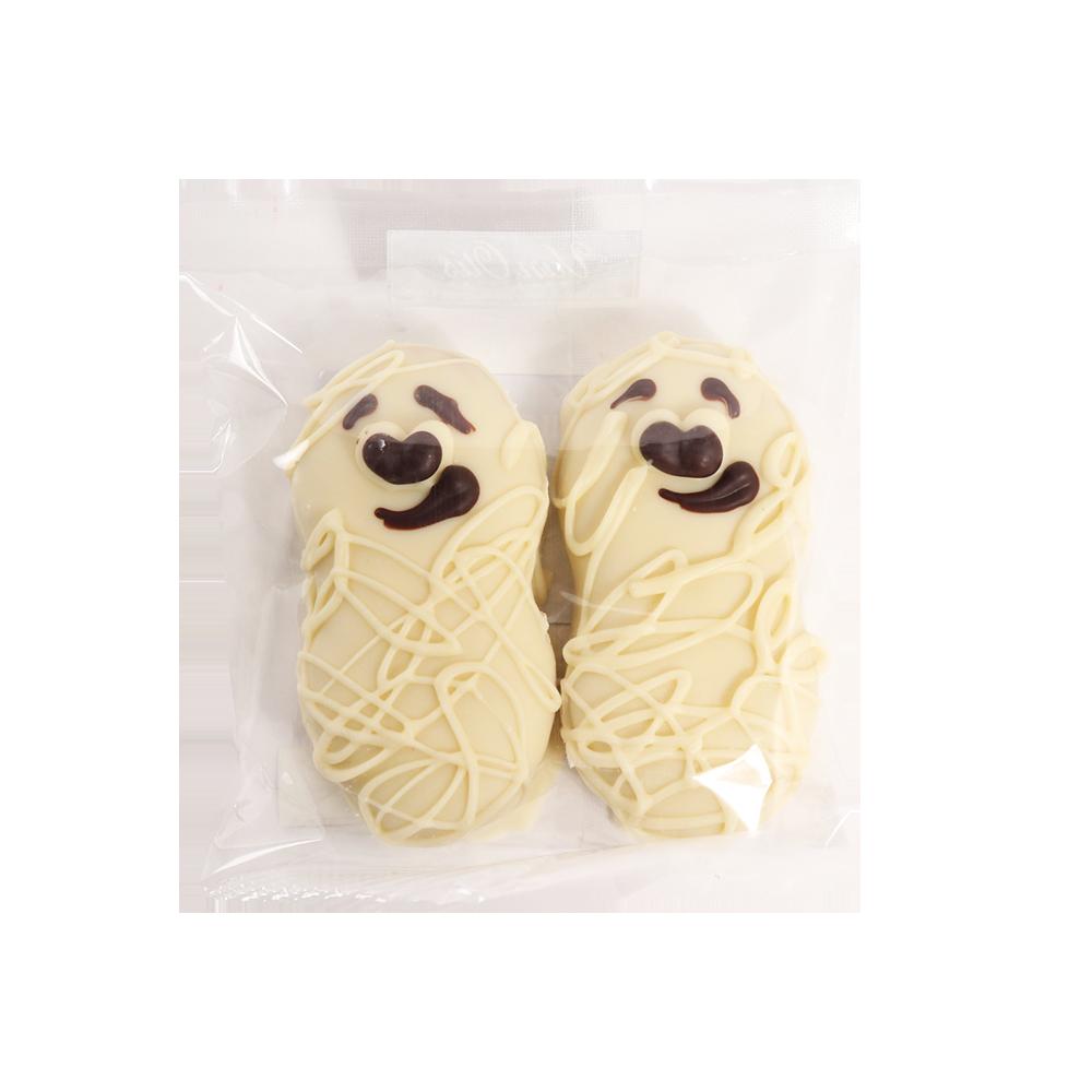 Peanut Butter Cookie Mummies