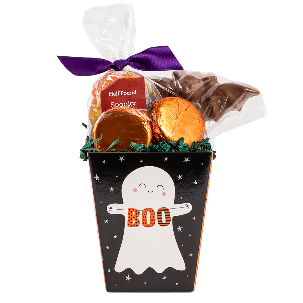 Small Ghost Gift Basket