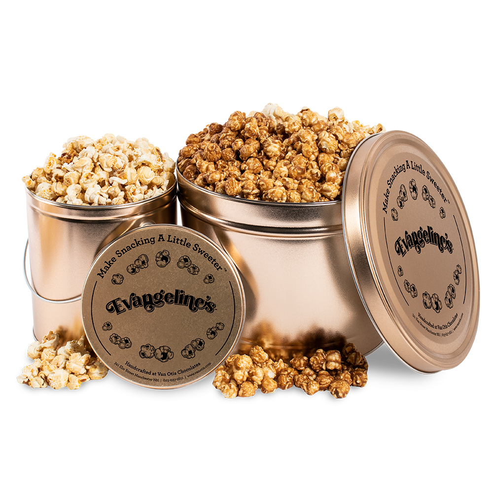 Evangeline's Popcorn Tin - COMING SOON!