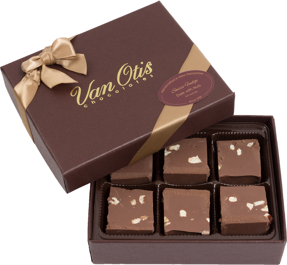 Dark Swiss Fudge with Nuts - 40% OFF IN CART!