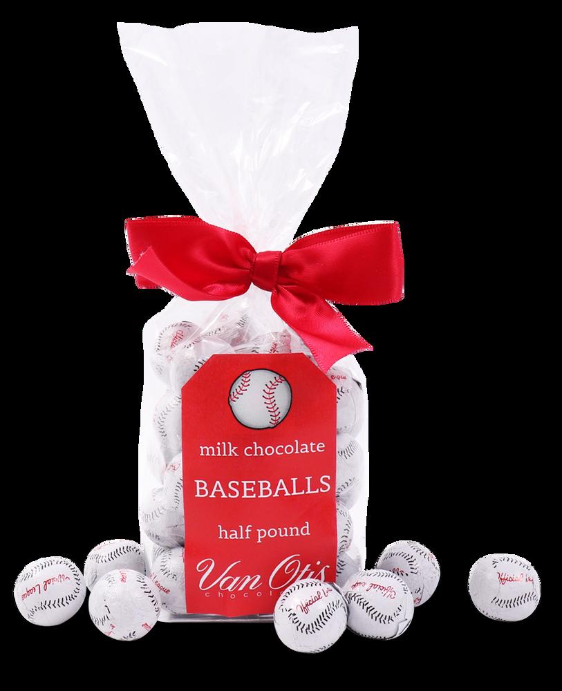 Milk Chocolate Baseballs