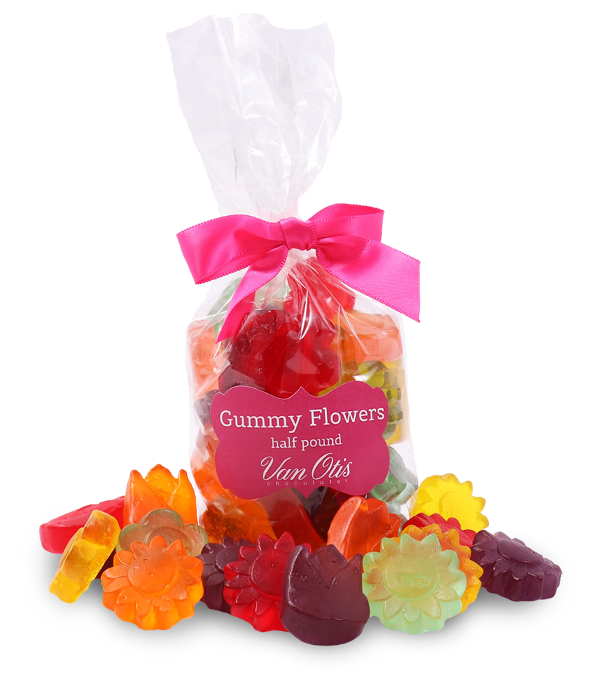 Gummy Flowers - Half Pound