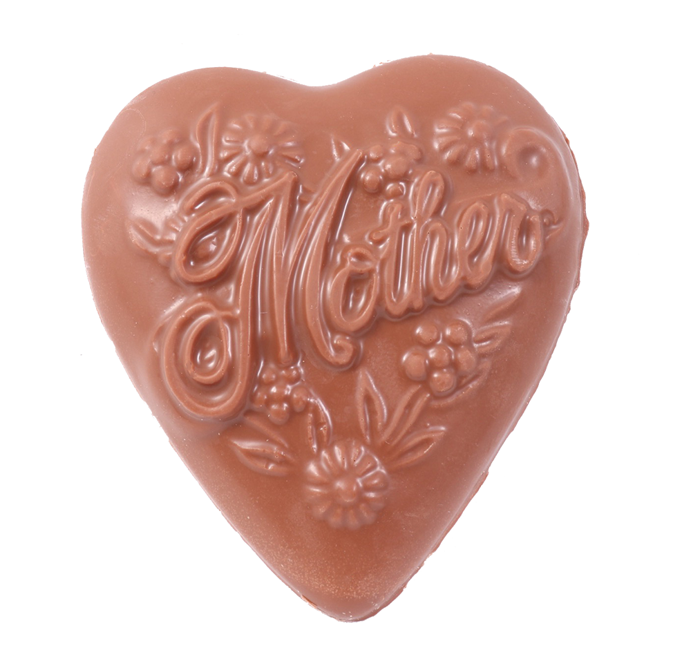 Mother Solid Heart Mold