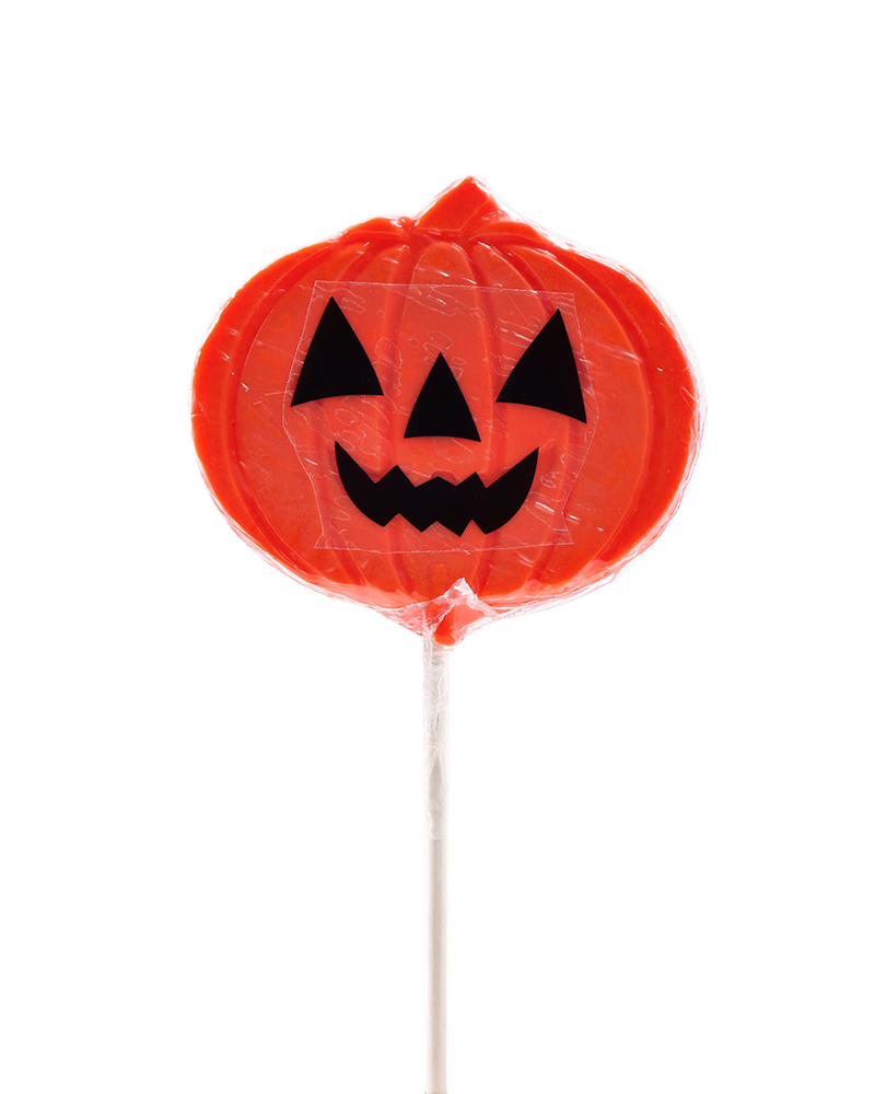 Hard Candy Pumpkin Face Pop