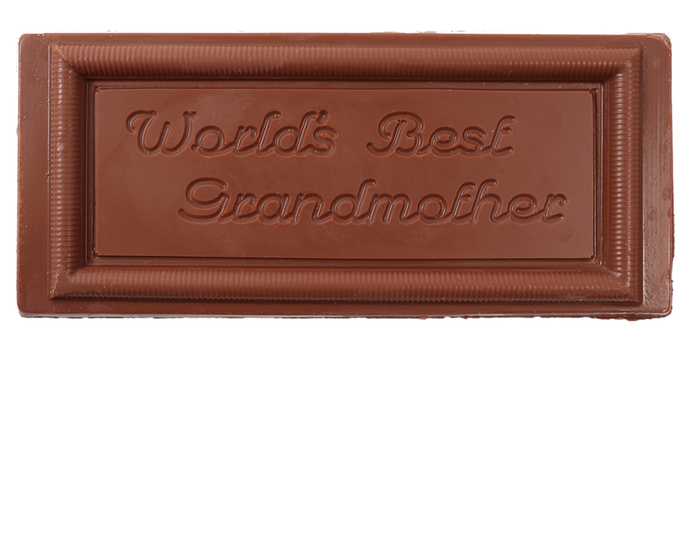 Worlds Best Grandmother Bar