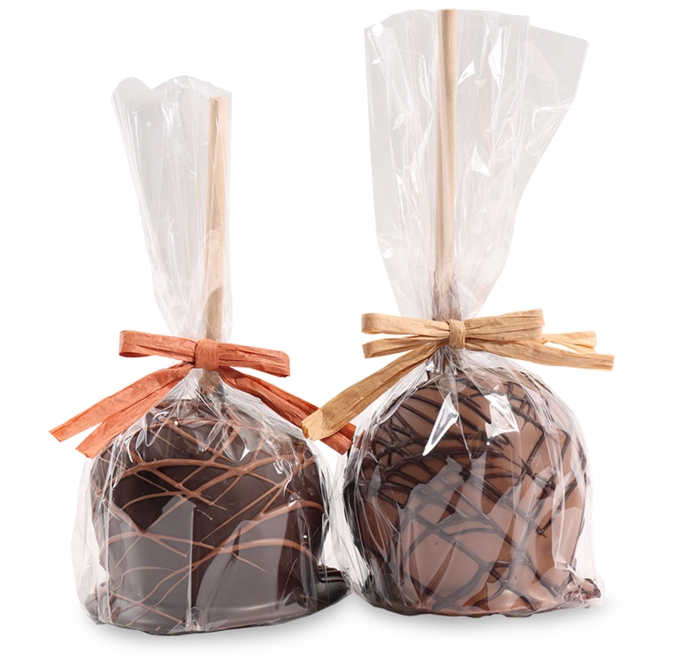 Plain Chocolate Caramel Apple