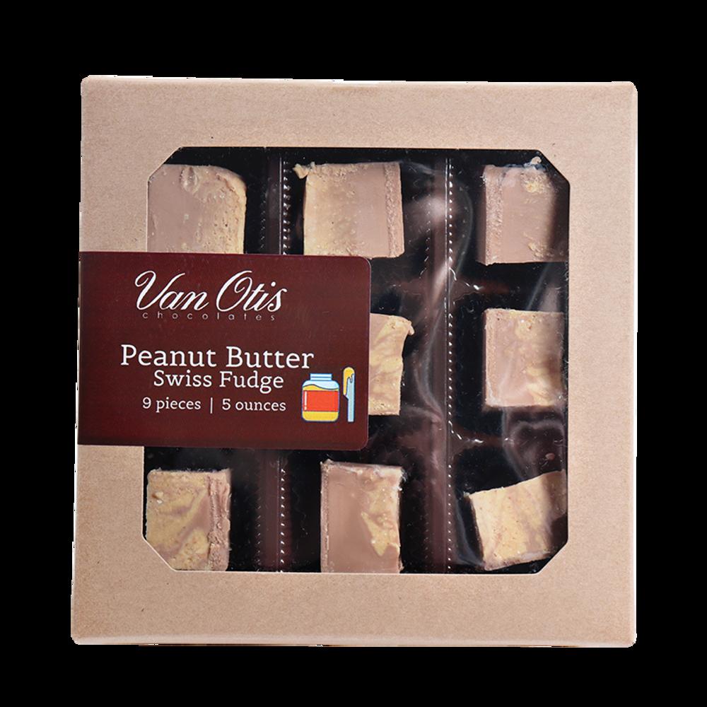 Peanut Butter Swiss Fudge