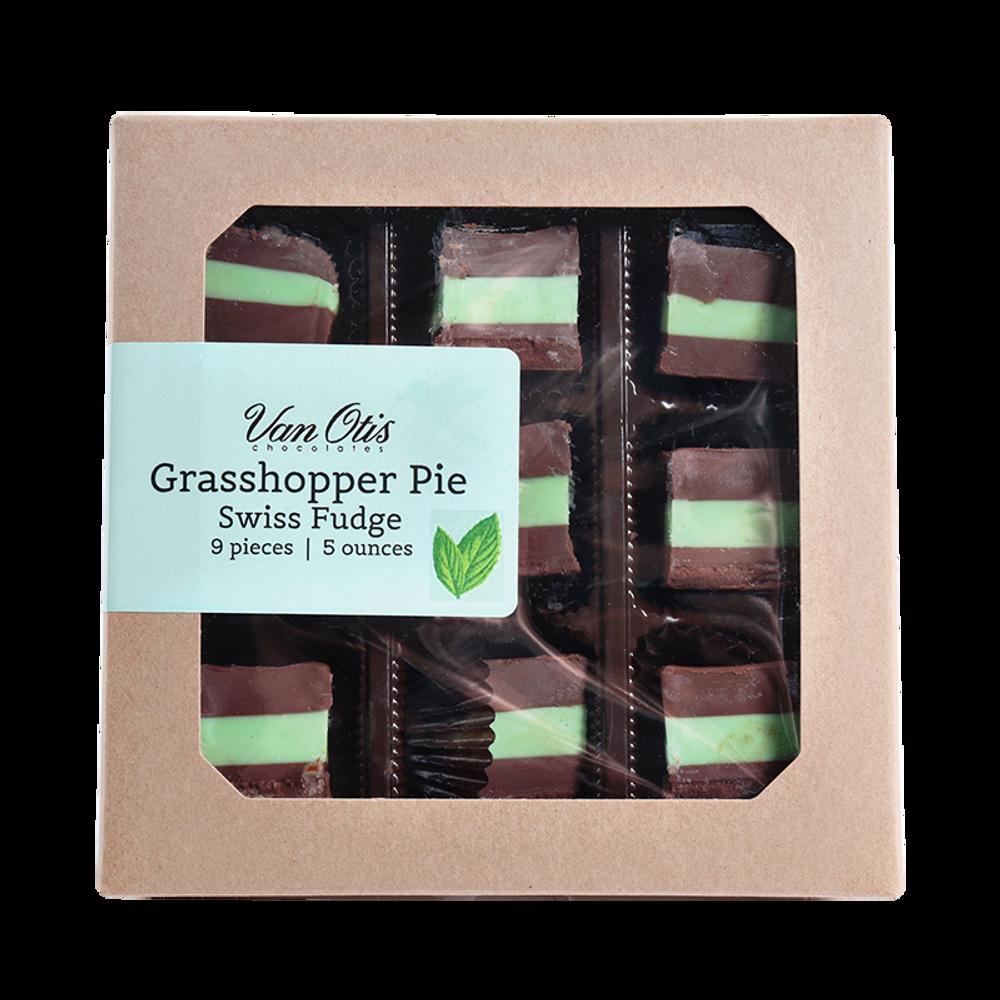 Grasshopper Pie Swiss Fudge