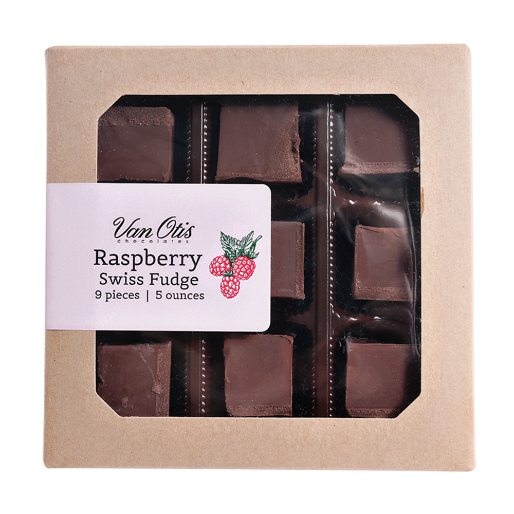 Raspberry Swiss Fudge