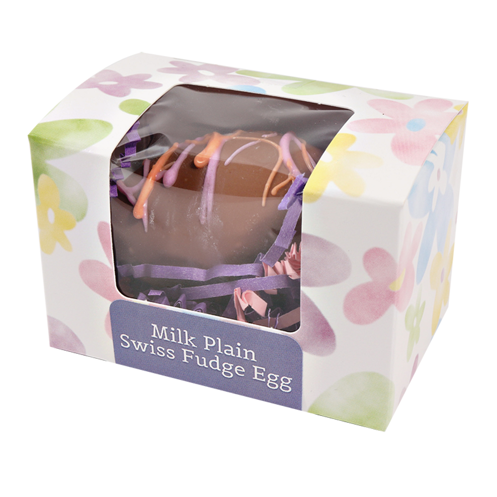 Milk Plain Swiss Fudge Egg