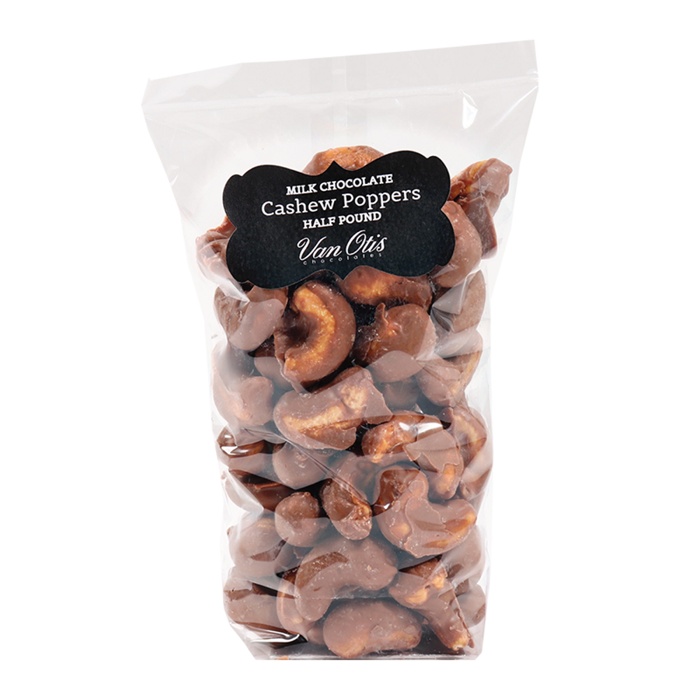 Milk Chocolate Cashew Poppers - 40% OFF IN CART!